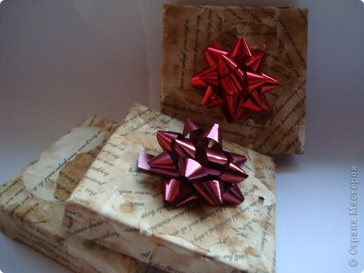 упаковочные коробочки фото 1
