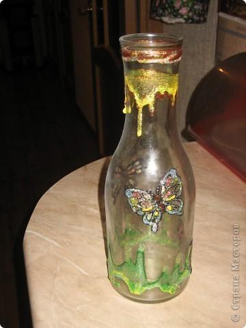 Пили мы вино... Выбросить бутылки мне не хватило решимости. В интернете увидела мысль, к сожалению не помню где... фото 4