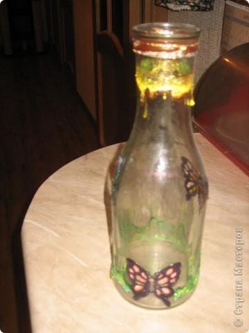 Пили мы вино... Выбросить бутылки мне не хватило решимости. В интернете увидела мысль, к сожалению не помню где... фото 5