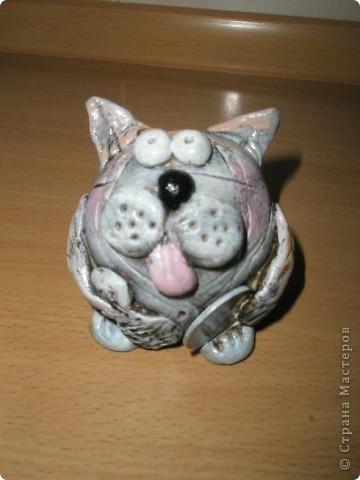 Символ года - кот( техника по мастер-классу ANAID ) фото 1