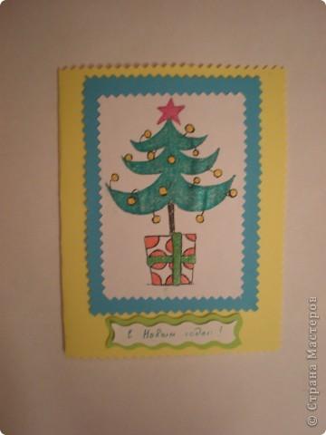 Новогодние открытки фото 4