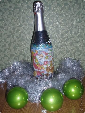 Бутылочка на Новый Год фото 1