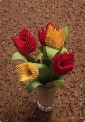 Букет тюльпанов. фото 1