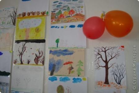 дети рисуют осень фото 1