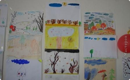 дети рисуют осень фото 2
