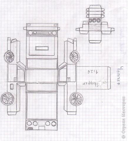 Эту модель разработал в прошлом учебном году Галаев Алексей(10 лет). фото 2
