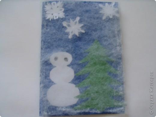 Мои новогодние открытки. Зимние радости. фото 2