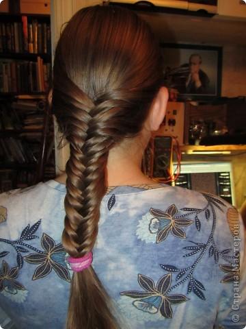 Вот такую косу смогли освоить благодаря МК. Давно хотела научиться. Спасибо! От меня и от дочки.
