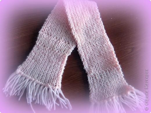 Вот мой шарф.Спицами фото 1