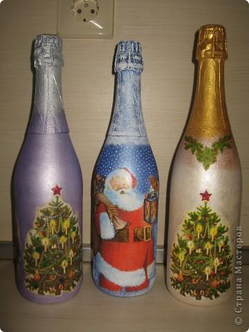 Бутылочки Новогодние фото 2