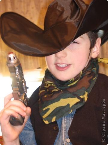 Шляпа ковбоя своими руками