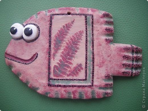 Еще одна рыбка с папоротниковой тематикой фото 1