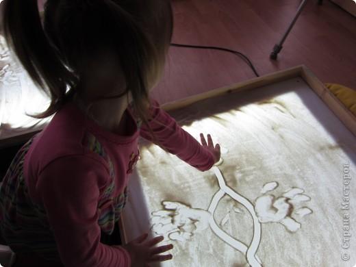 Рисуем на песке, рисуем песком. фото 2