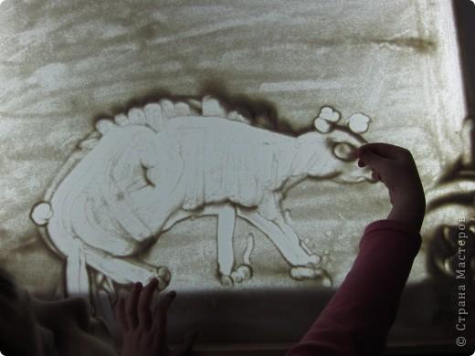 Рисуем на песке, рисуем песком. фото 4