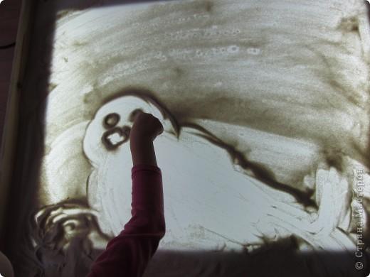 Рисуем на песке, рисуем песком. фото 5