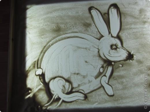 Рисуем на песке, рисуем песком. фото 10