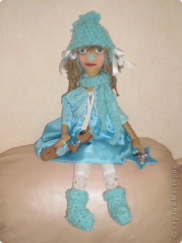 Светлана - кукла примитив с кофейным мишкой. фото 1