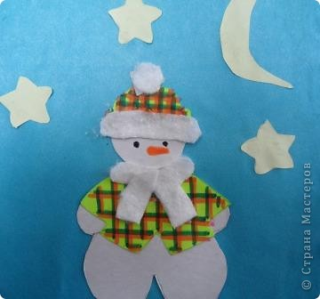 Снеговик Милены фото 2