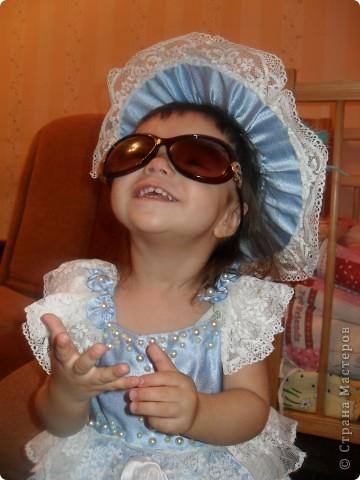 из такой же ткани, что костюм Василисы-прекрасной сшила костюм для  младшей дочери фото 2