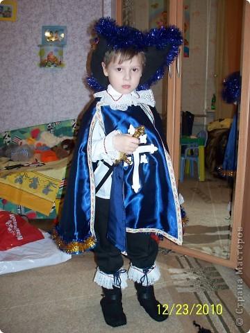 Здавствуйте, хочу поделиться идеей изготовления костюма мушкетера, который я сделала для сына)) вдруг пригодится  фото 1