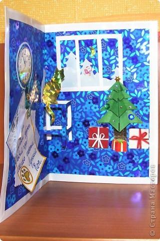 Делали с сыном большую ёлочную игрушку и новогоднюю открытку для школьных конкурсов. Поделка - Снегурочка заняла 1 место в школе, и потом 1 место в районном конкурсе. Теперь она будет висеть на губернаторской ёлке. Наша открытка Лунный Кот тоже победила. Дитё довольное - принёс аж 3 чемпионских грамоты. Ну а если ребёнок доволен, то и я довольна ))) Значит не зря старались. Спасибо Стране мастеров за идеи и мастер-классы!!!  фото 3