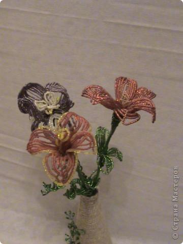 Ирис, лилия и тюльпан