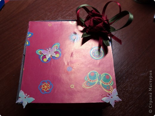 Комодик из спичечных коробков фото 13