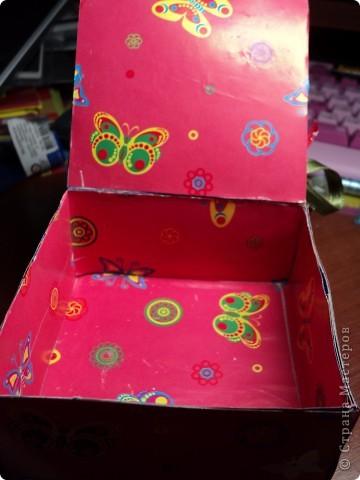 Комодик из спичечных коробков фото 12