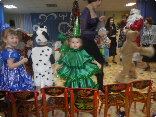 Новогодний костюм Ёлочки фото 2