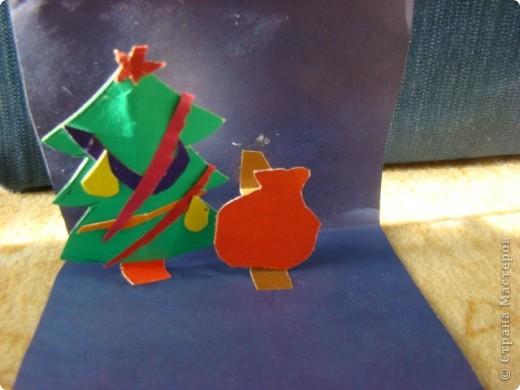 делали с дочкой открыточки на новый год- ее любимая собачка фото 5