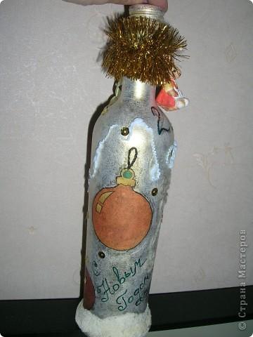Новогодние бутылочки фото 6