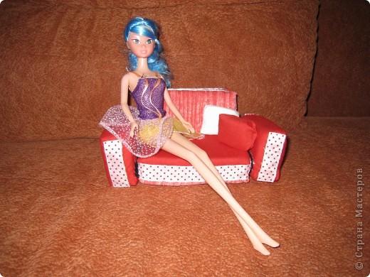 Диван для Барби