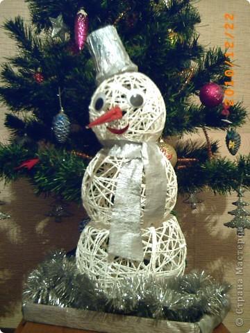 Мой первый снеговик