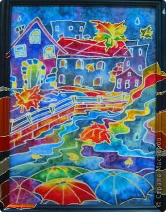 Город...Осень...(триптих) фото 3