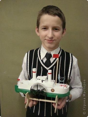 Модель построил ученик 6-го класса Тимур. фото 1