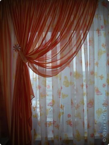 Цветочек  теперь вместе со шторой фото 1
