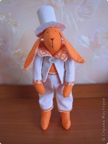 ТИЛЬДа кролик-джентельмен