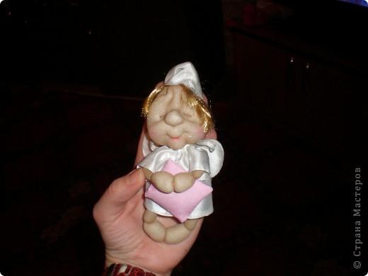 Теперь у меня появился первый ангелок-сплюша!! Спасибо Ликме, за МК!!! фото 1