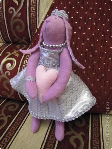 ТИЛЬДА кролик-невеста  фото 1