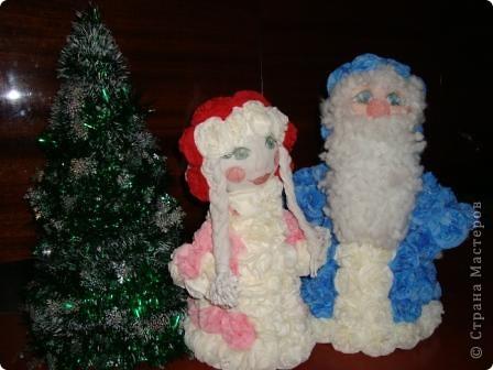 «Дедушка Мороз и Снегурочка у Новогодней ёлочки!»  фото 1
