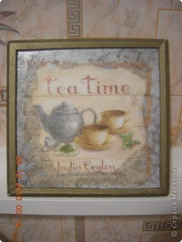 Чайное панно фото 2