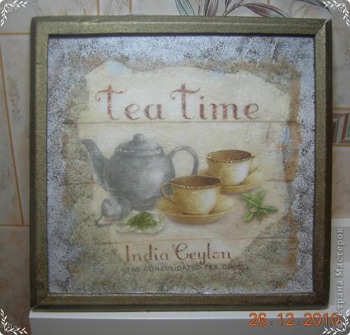 Чайное панно фото 1