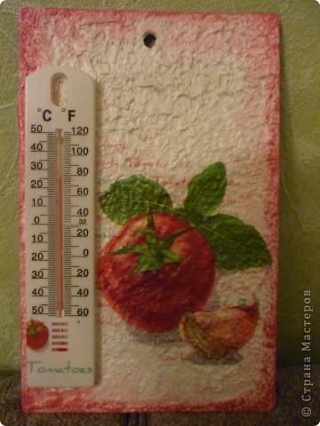 томатный градусник фото 1