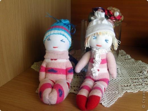 Кукляшки из носочков. фото 1