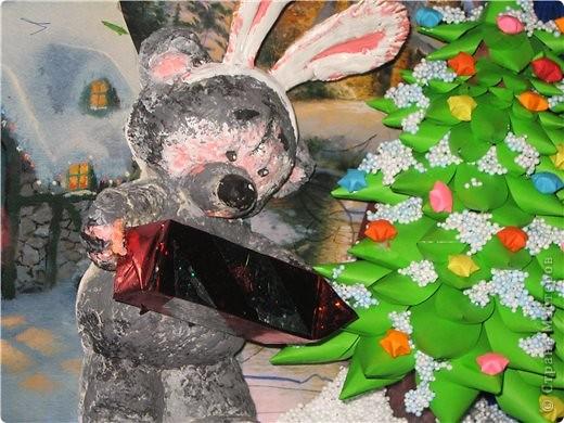 поделка к Новому году на конкурс в садик фото 3