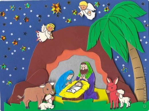 Как сделать открытки с рождеством своими руками