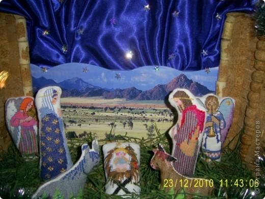 Рождественский  вертеп фото 3