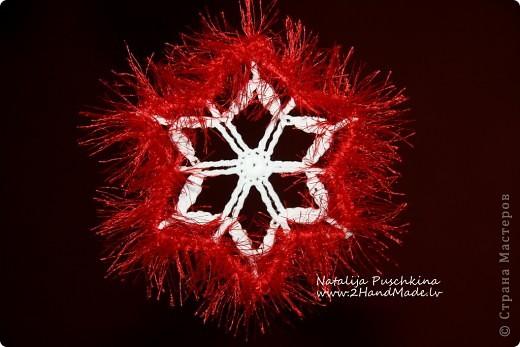 Рождественская снежинка фото 3