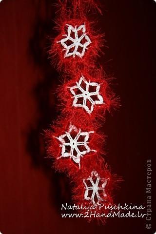 Рождественская снежинка фото 1