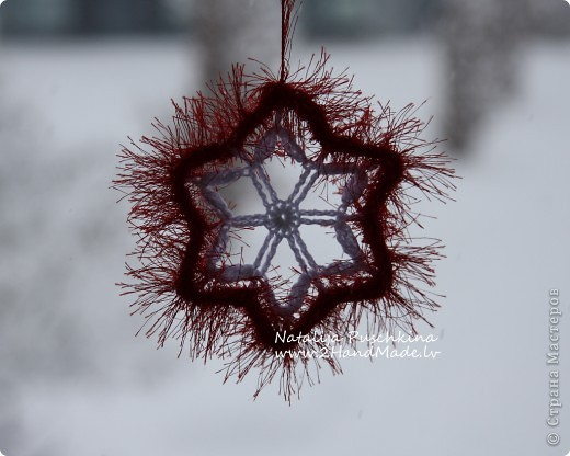 Рождественская снежинка фото 5
